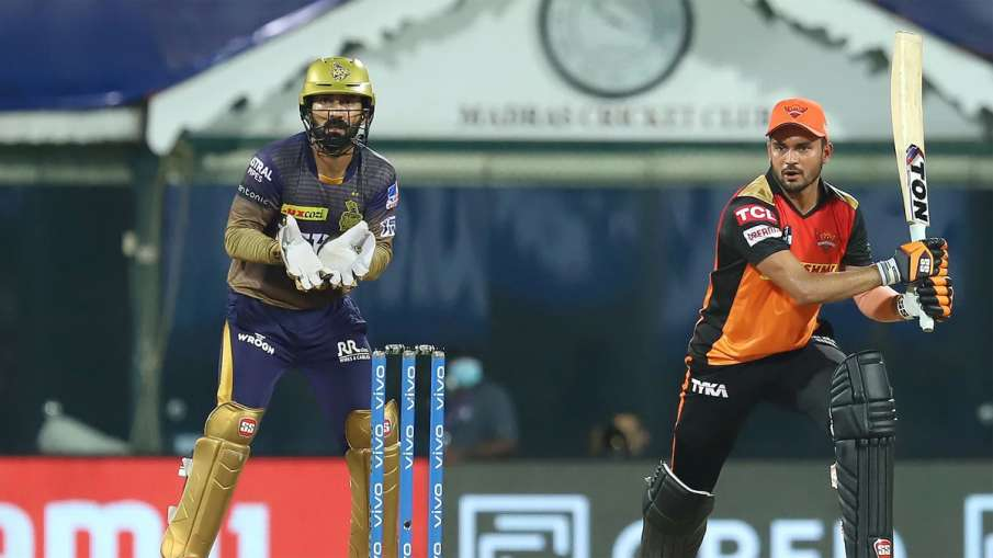 IPL 2021: Virender Sehwag Said Manish Pandya is responsible for SRH defeat vs KKR - India TV Hindi