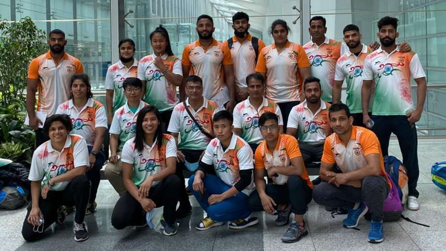 Indian judo team withdraws from Olympic qualifier after two players became Covid positive- India TV Hindi