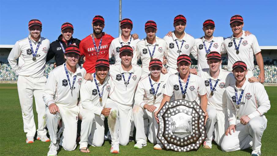 Canterbury won the fourth title of the New Zealand domestic season by winning the Plunket Shield- India TV Hindi
