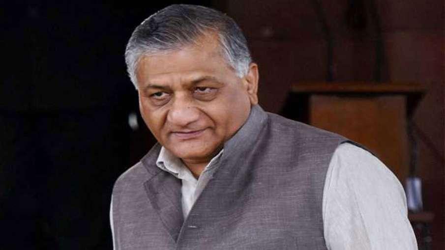 केंद्रीय मंत्री के रिश्तेदारों तक को नहीं मिल रहे बेड! वीके सिंह ने अपने भाई के लिए लगाई गुहार- India TV Hindi