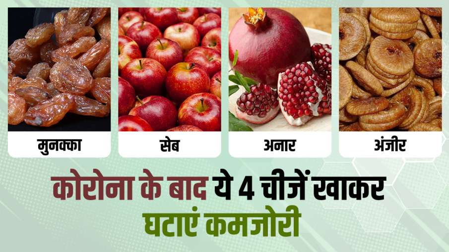 want to reduce weakness after corona est 4 things- India TV Hindi