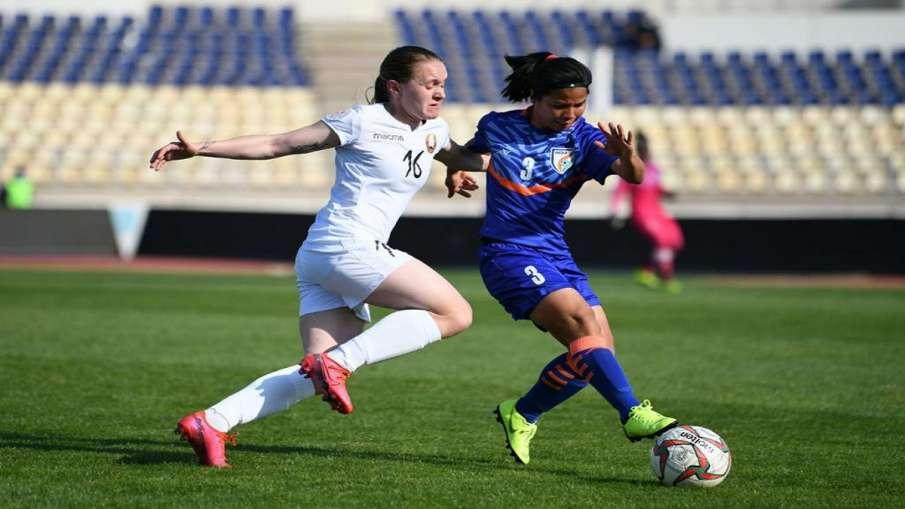 भारतीय महिला फुटबॉल...- India TV Hindi