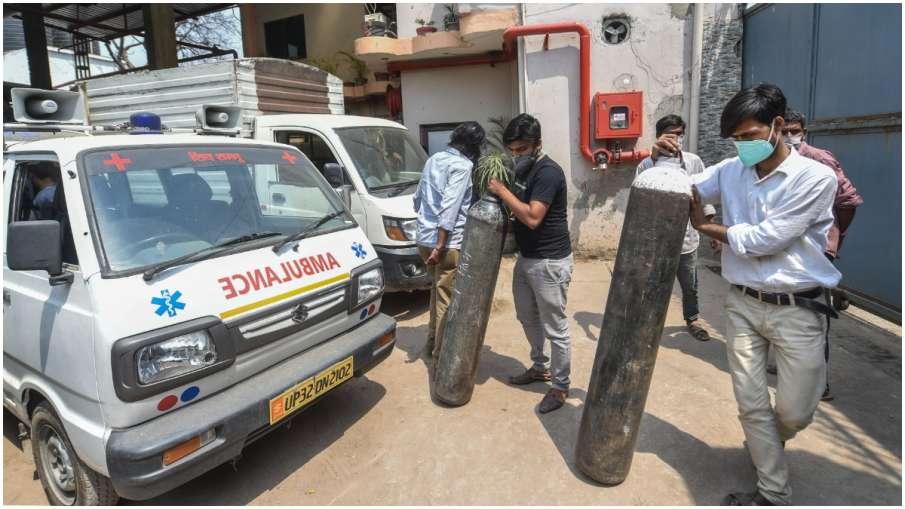 OXYGEN, HOSPITAL, UP- India TV Hindi