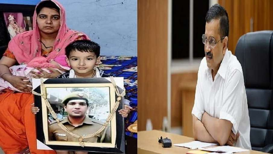 Wife of Delhi cop, first Covid fatality in force, awaits Rs 1 cr compensation- India TV Hindi