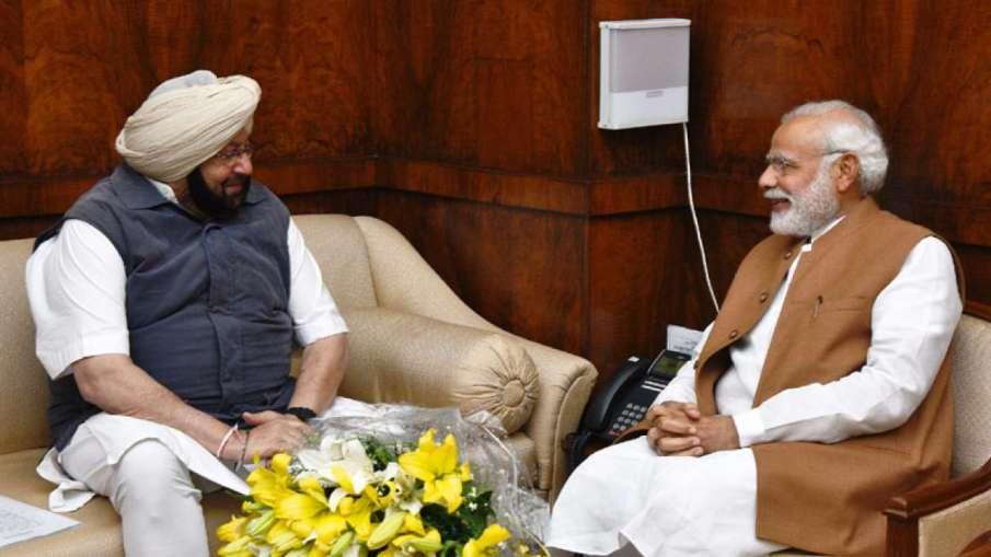 Amarinder Singh urges PM Modi to increase oxygen, vaccine supplies- India TV Hindi