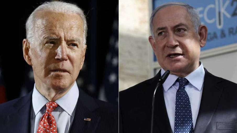 Joe Biden, Moon Jae in, Benjamin Netanyahu, Biden Netanyahu Ceasefire- India TV Hindi