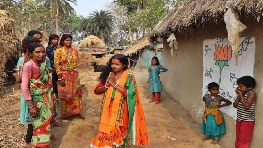 Meet Saltora BJP MLA Chandana Bauri wife labourer who won in bengal elections लोकतंत्र का कमाल! वोटर- India TV Hindi