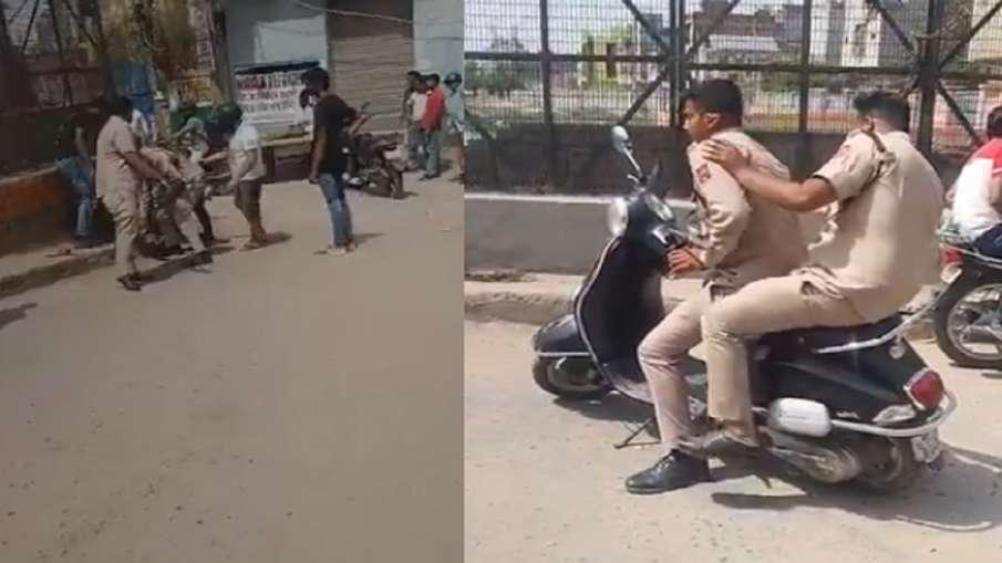 रास्ते को लेकर सिविल डिफेंस के दो लोगों ने रेहड़ी वाले को पीटा, मामला दर्ज- India TV Hindi