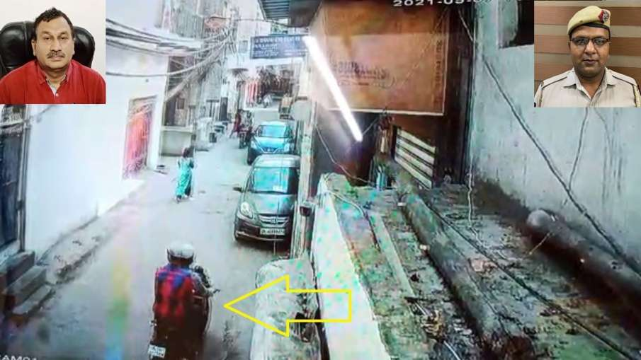 Public and police coordination in Delhi's Brahmapuri, snatcher caught in minutes - India TV Hindi