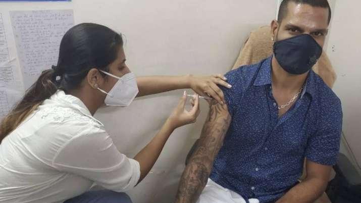 Shikhar Dhawan gets first dose of Corona vaccine, tweeted information- India TV Hindi