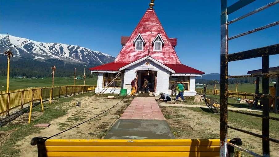गुलमर्ग का शिव मंदिर दशकों बाद जनता के लिए खुलेगा, भारतीय सेना ने किया है जीर्णोद्धार- India TV Hindi