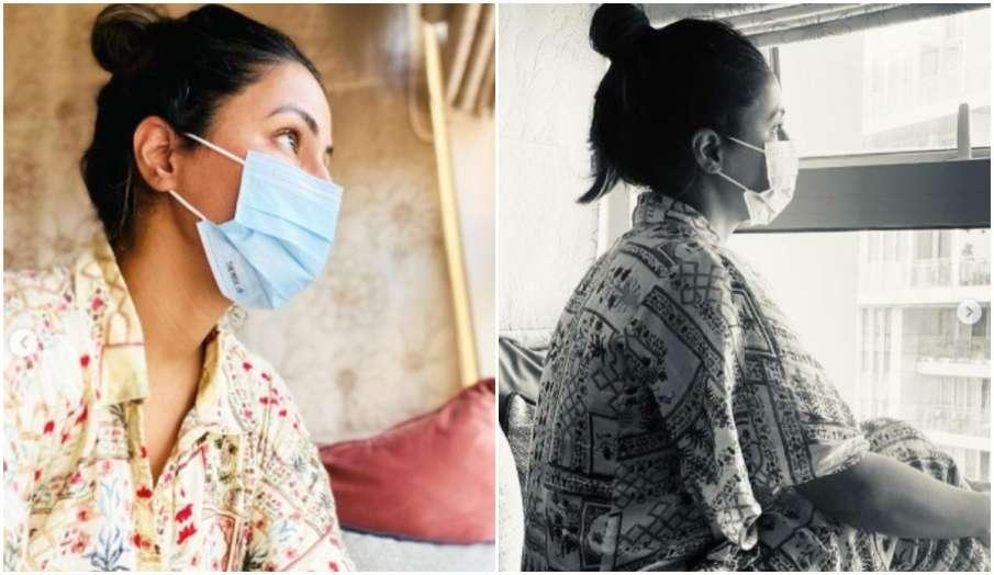 hina khan instagram post says A Helpless Daughter- India TV Hindi