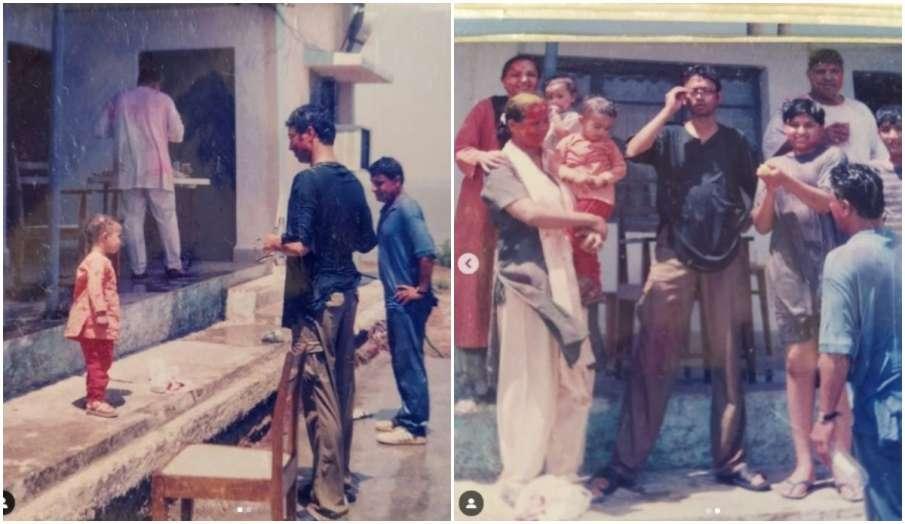 irrfan khan son babil khan remembers best holi shares throwback pic - India TV Hindi