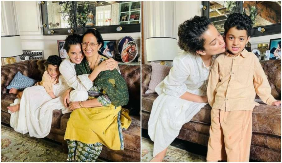 kangana ranaut lovely meeting with friends and relatives says Most challenging during Covid was the - India TV Hindi