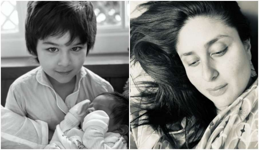 kareena kapoor khan shares first picture of her younger son with Taimur on  Mothers day 2021 - India TV Hindi