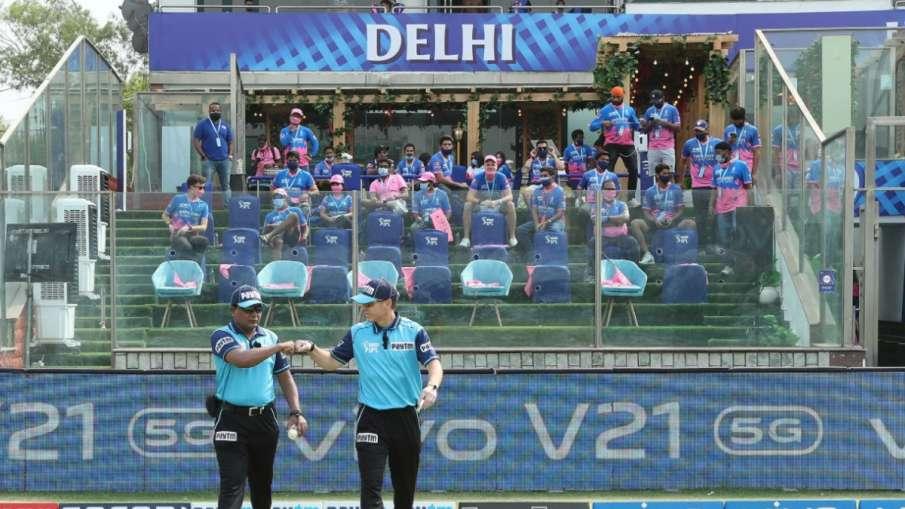 IPL 2021 : कोटला मैदान में...- India TV Hindi