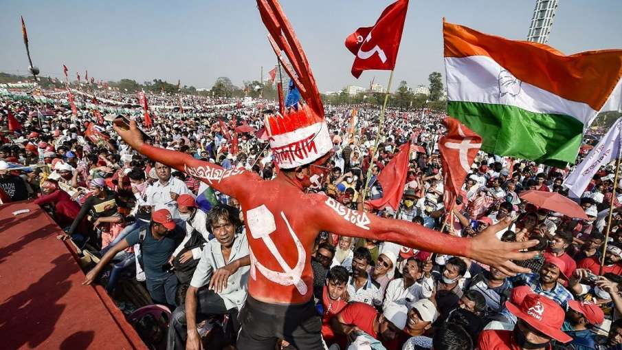 The Once-Mighty Left and Congress Completely Routed in Bengal- India TV Hindi