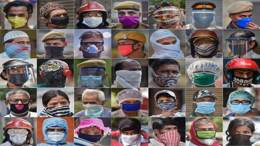 Mask use for long time to excess carbon dioxide and lack of oxygen in body PIB fact check क्या लंबे - India TV Hindi