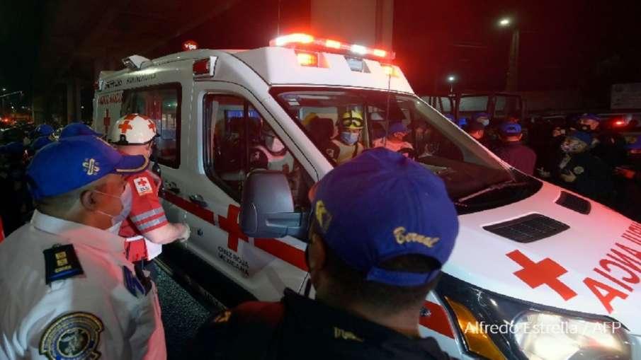 मैक्सिको सिटी में मेट्रो का पुल गिरने से 20 लोगों की मौत, 70 घायल- India TV Hindi