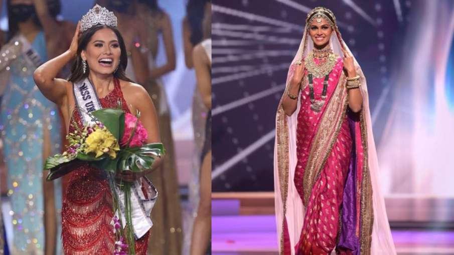Miss Universe: मैक्सिको की एंड्रिया बनी मिस यूनिवर्स, खिताब पाने से चूकीं भारतीय कंटेस्टेंट कैस्टेलि- India TV Hindi