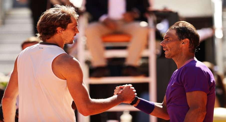 Rafael Nadal, Madrid Open, Alexander Zverev, quarter-finals- India TV Hindi