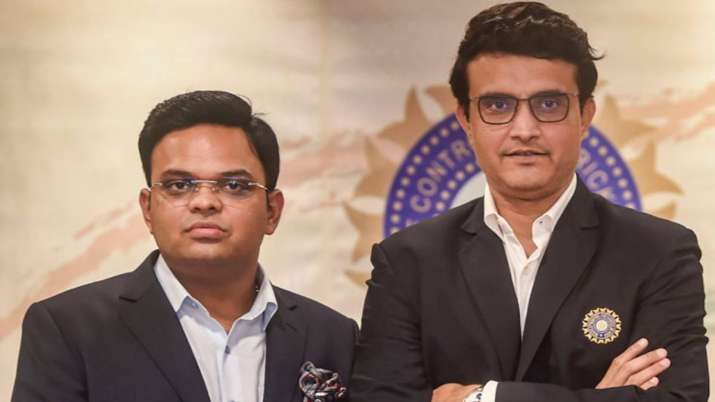 Sourav Ganguly and Jay Shah WTC final IPL 2021 In England - India TV Hindi