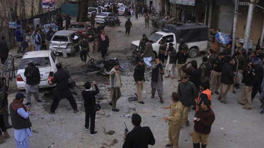 Pakistan Rally Blast, Pakistan Palestine Rally Blast, Pakistan Palestine Rally Blast Israel- India TV Hindi