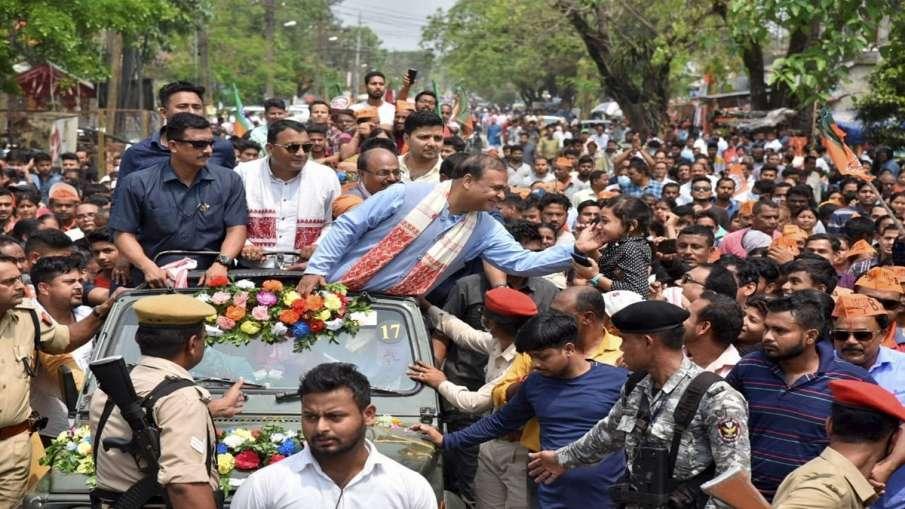 Will BJP Change its CM in Assam Himanta Sarma reaction असम: क्या असम में बदलेगा बीजेपी का सीएम फेस? - India TV Hindi