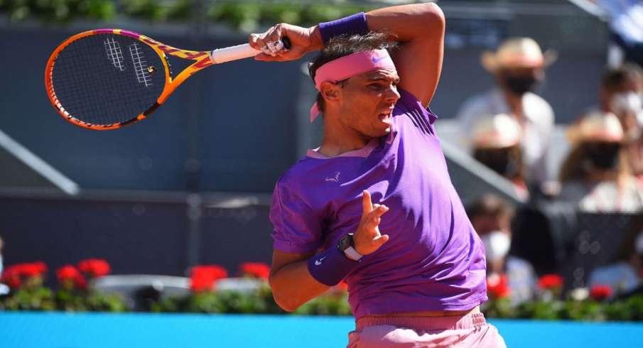 Rafael Nadal,  quarter-finals, Madrid Open, Medvedev - India TV Hindi