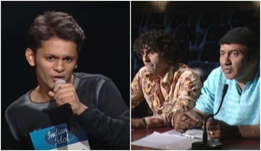 rahul vaidya indian idol old video sonu nigam anu malik farah khan watch - India TV Hindi