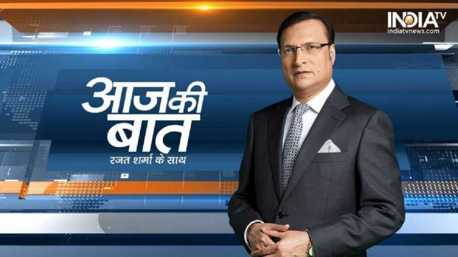 India TV Chairman and Editor-in-Chief Rajat Sharma.- India TV Hindi