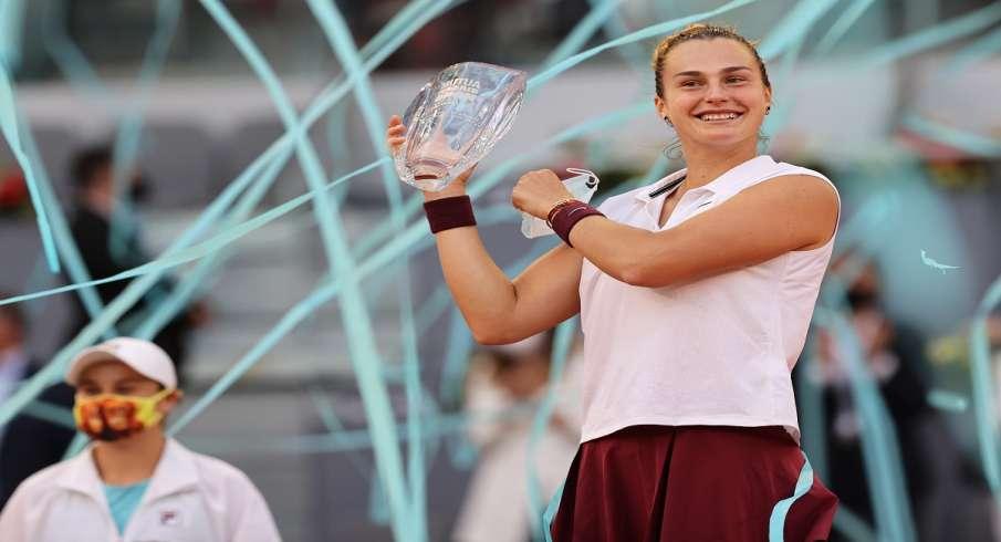 Sabalenka, WTA rankings, Madrid Open women, singles title- India TV Hindi