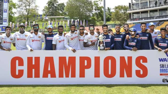 SL vs BAN: Sri Lanka won the Test series 1–0 by beating Bangladesh by 209 runs in the 2nd Test- India TV Hindi