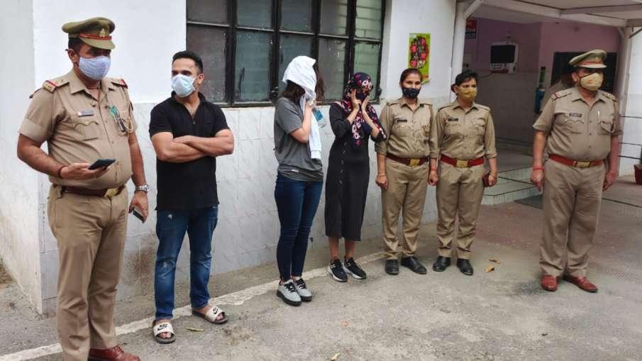 नोएडा: अवैध नशे का कारोबार करने वाली विदेशी महिला सहित तीन गिरफ्तार- India TV Hindi