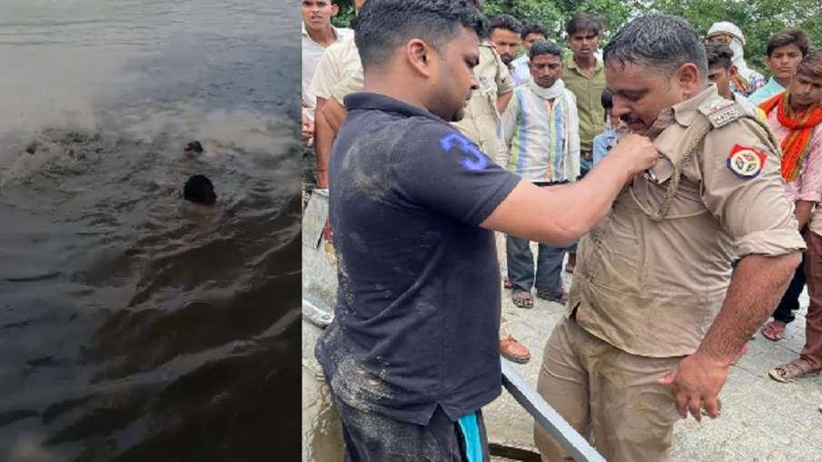एसएसपी नैथानी ने सब इंस्पेक्टर आशीष को किया सम्मानित, डूबते शख्स की बचाई जान - India TV Hindi