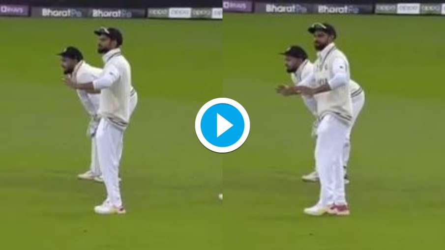 Virat Kohli entertains fans by doing Bhangra In WTC Final Against New Zealand, video goes viral- India TV Hindi