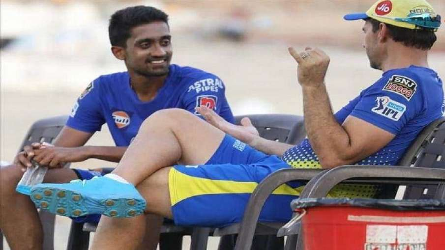 चेन्नई की टीम के साथ...- India TV Hindi