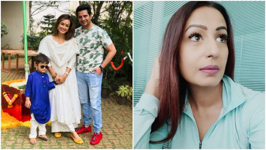 Karan-Nisha and Kashmera - India TV Hindi