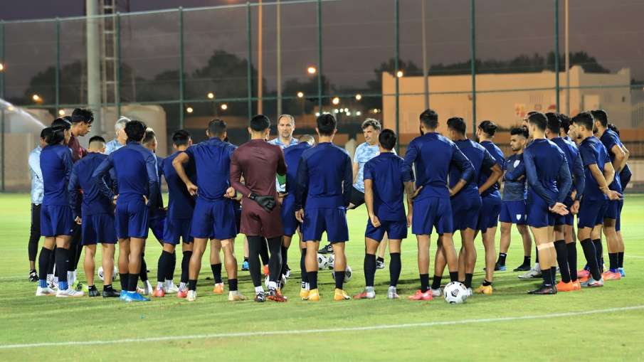 भारतीय फुटबॉल टीम...- India TV Hindi
