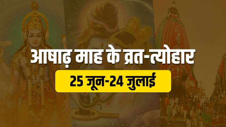 Ashad Mass 2021: आषाढ़ मास शुरू, जानें इस माह पड़ने वाले सभी व्रत और त्योहार - India TV Hindi