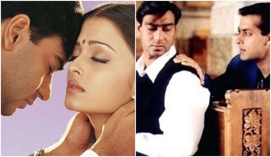 22 years of Hum Dil De Chuke Sanam ajay devgn shares throwback pics with salman khan aishwarya rai a- India TV Hindi