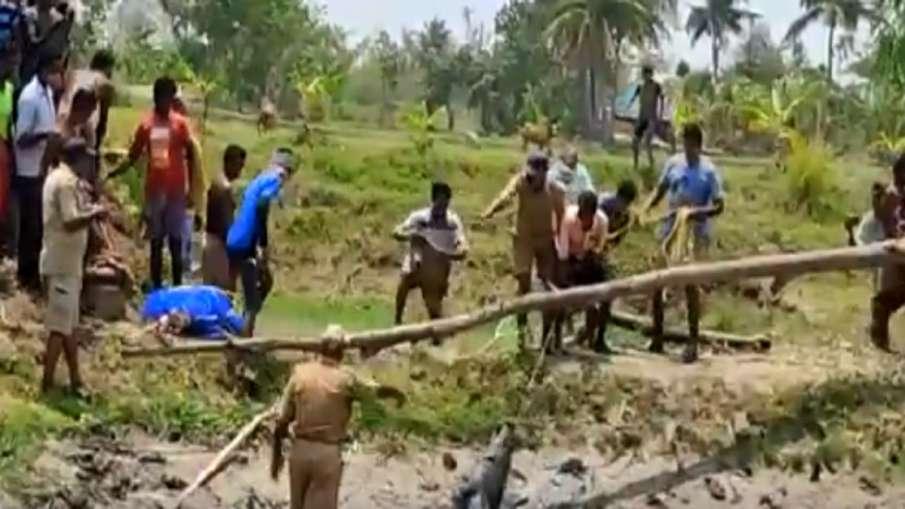 alligator captured- India TV Hindi