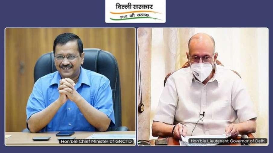 Delhi CM Kejriwal and Lt Governor Anil Baijal Meet Over Possible COVID-19 3rd Wave- India TV Hindi