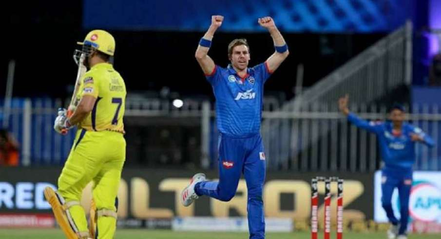 Mumbai Indians,ms dhoni,IPL,Dhoni,champions league,Anrich Nortje DC,anrich nortje- India TV Hindi