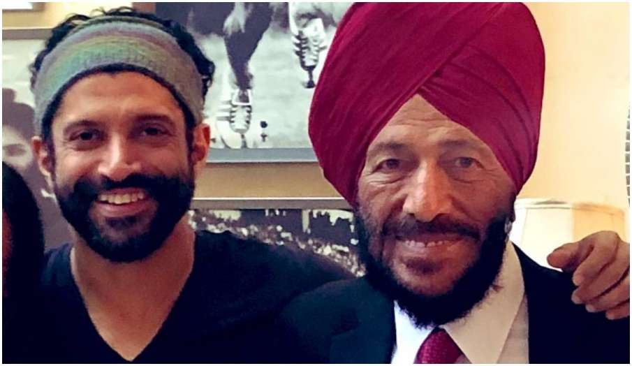 farhan akhtar emotional post for milkha singh says part of me is still refusing to accept that you a- India TV Hindi