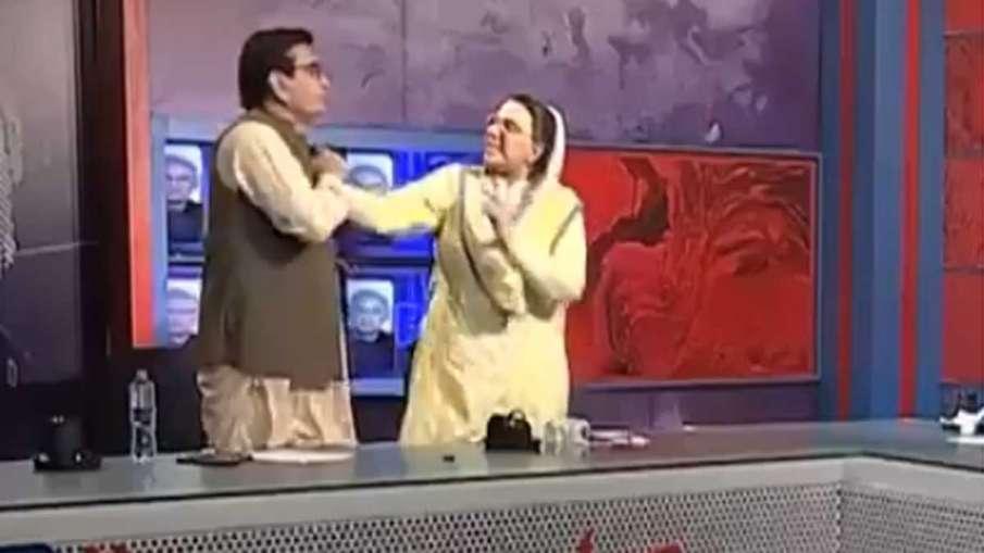 Firdous Ashiq Awan, Qadir Khan Mandokhail, MP Slapped, Pakistan MP Slapped- India TV Hindi