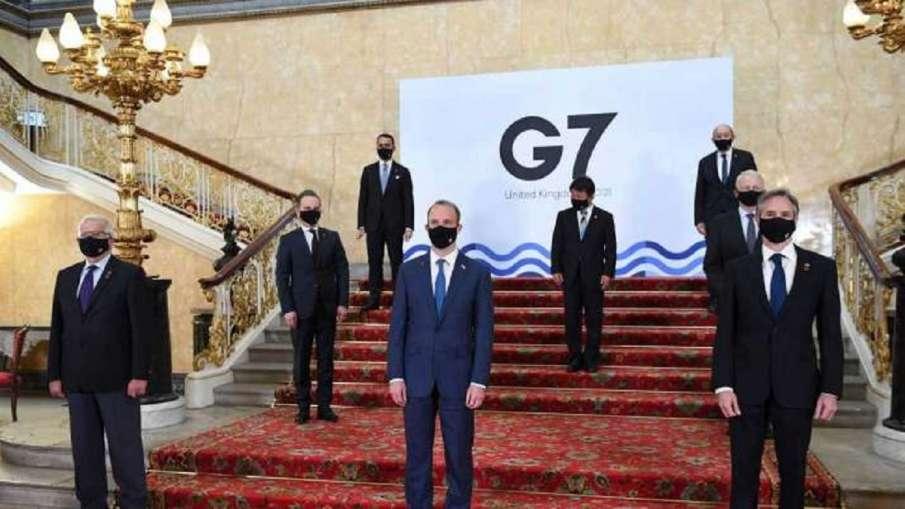 G-7 नेता कोरोना वायरस रोधी टीकों की एक अरब खुराकें दान करने का संकल्प लेंगे - India TV Hindi