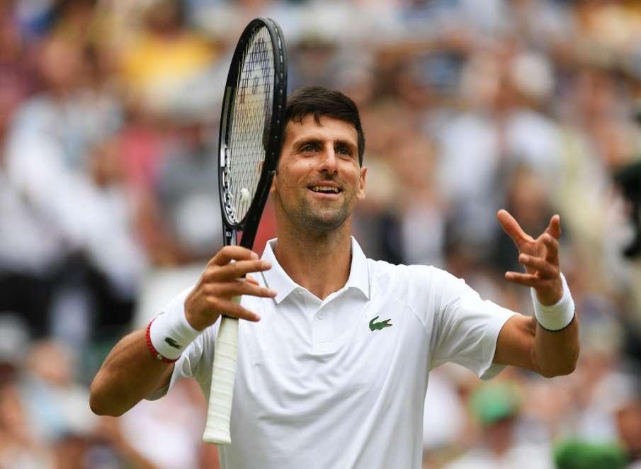 Wimbledon 2021: Novak Djokovic tops Jack Draper- India TV Hindi