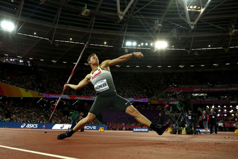 Tokyo Olympics: Javelin Champion Thomas Roehler Out Of...- India TV Hindi