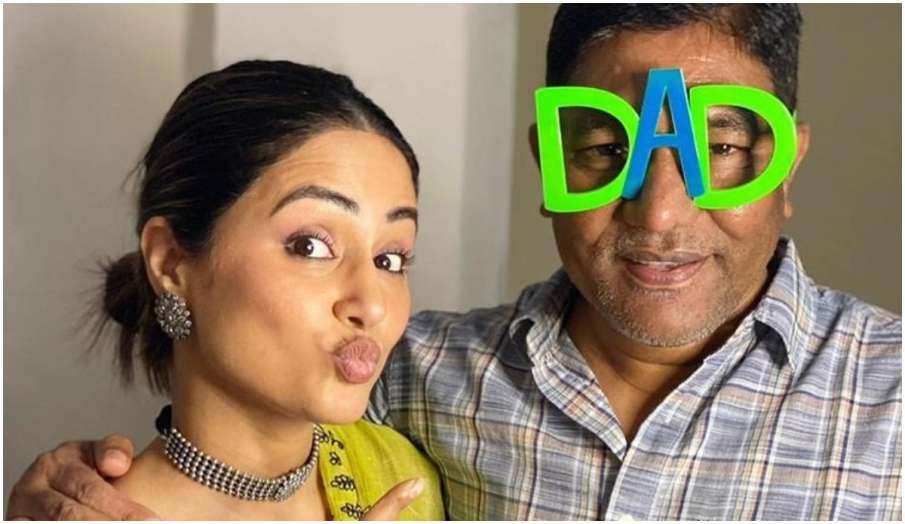 hina khan remember her dad on father's day says You had to see these pictures instagram post - India TV Hindi